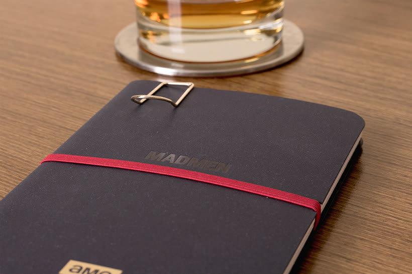 Cuaderno para la serie Mad Men 2