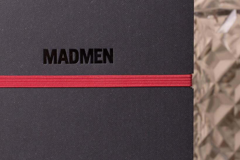 Cuaderno para la serie Mad Men 3