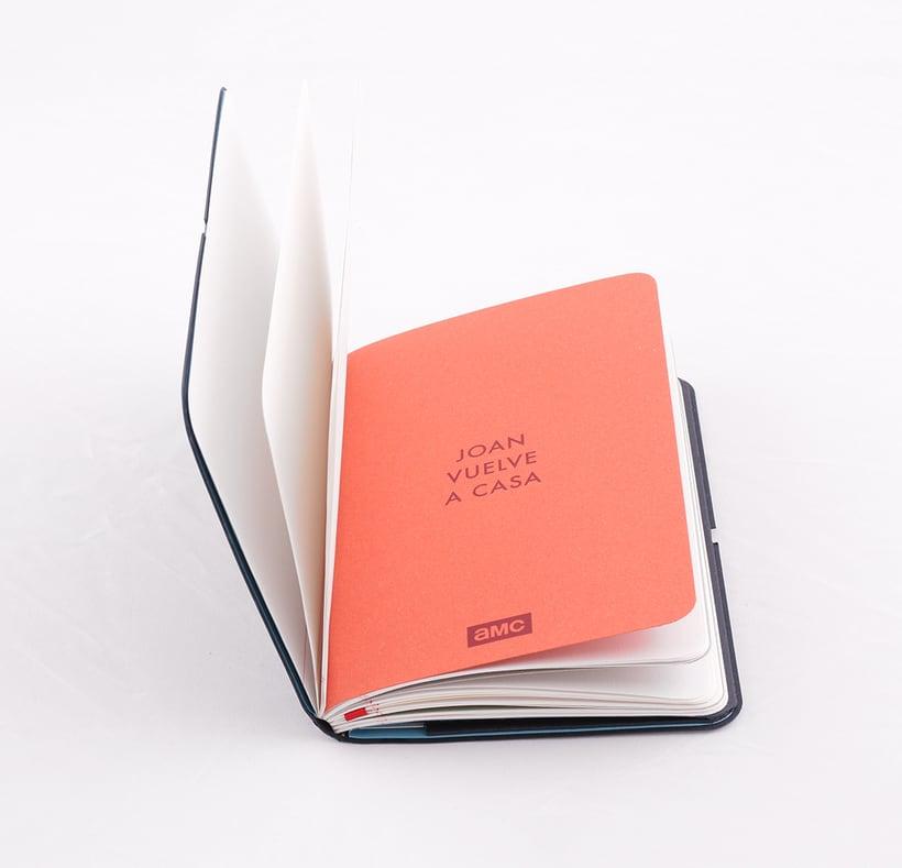Cuaderno para la serie Mad Men 6
