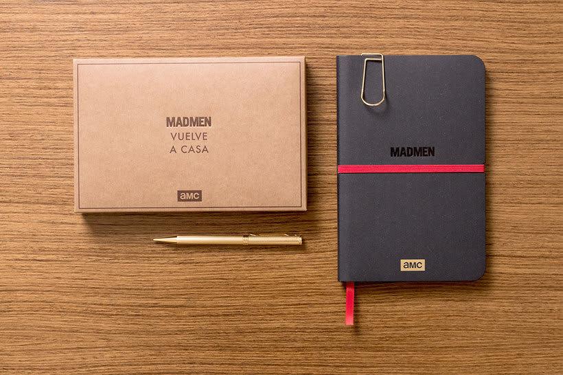 Cuaderno para la serie Mad Men 13