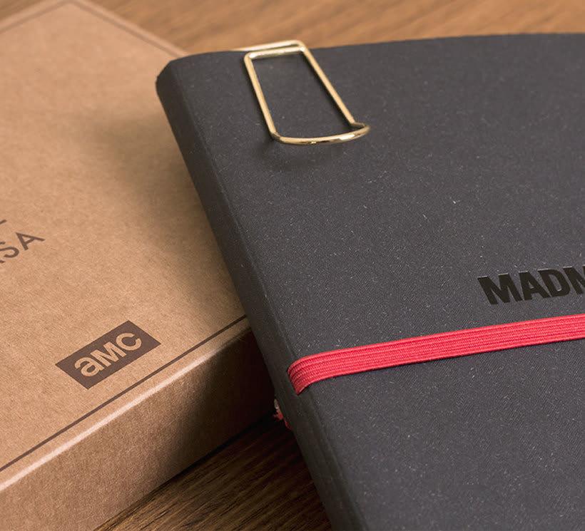 Cuaderno para la serie Mad Men 15