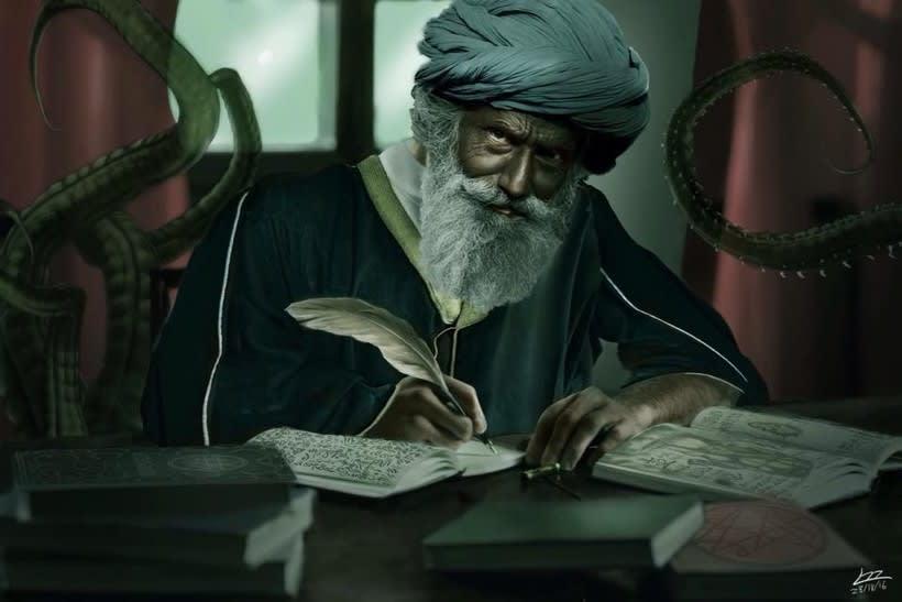 Abdul Alahzred -1