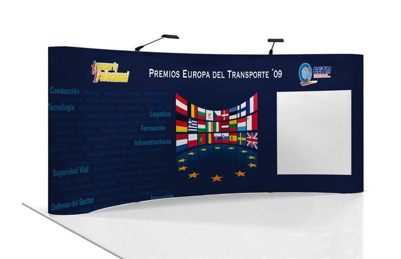 Banner para escenario de evento 3