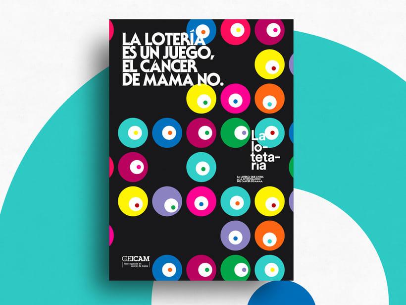"""La lotetaría """"GEICAM"""" 5"""