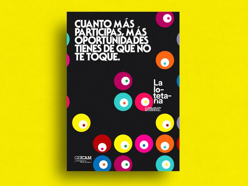 """La lotetaría """"GEICAM"""" 6"""