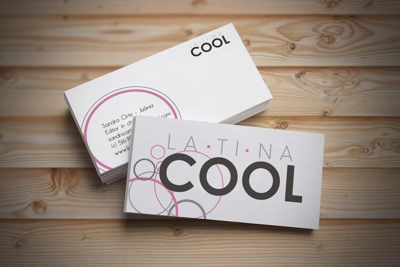 Tarjetas de identidad para Latina Cool -1