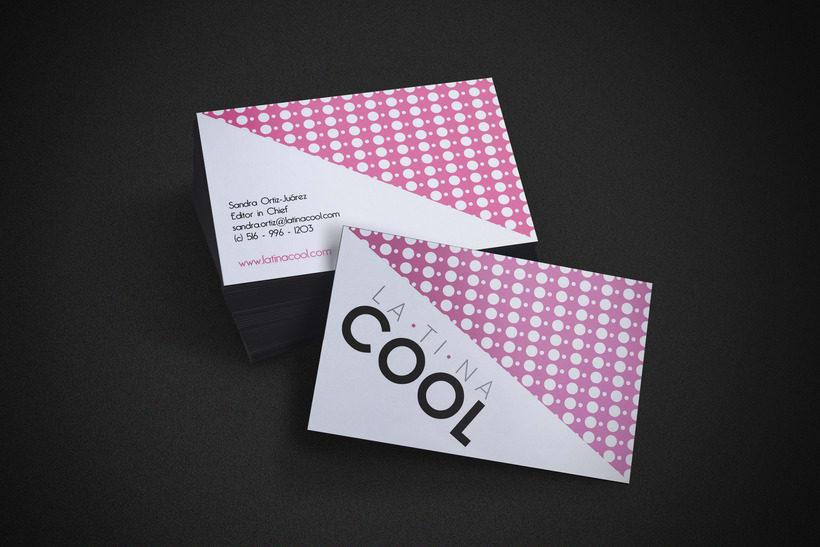 Tarjetas de identidad para Latina Cool 2