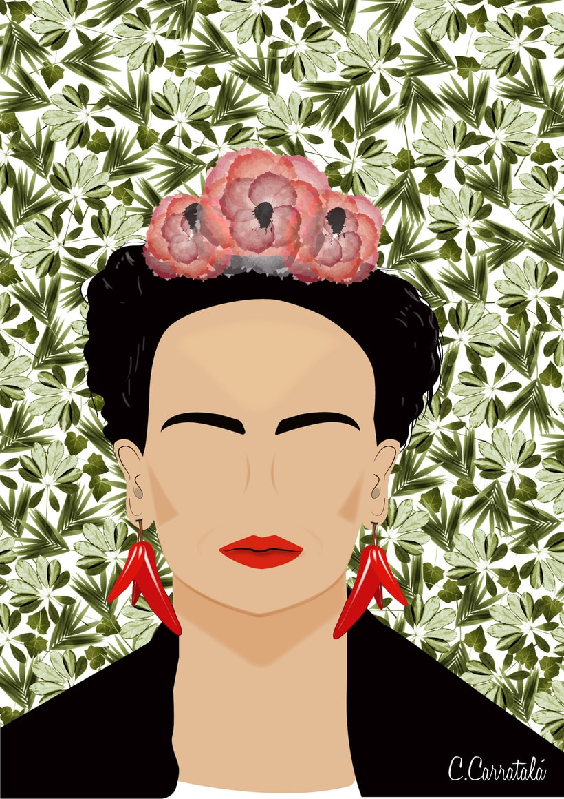Ilustraciones Frida Kahlo -1