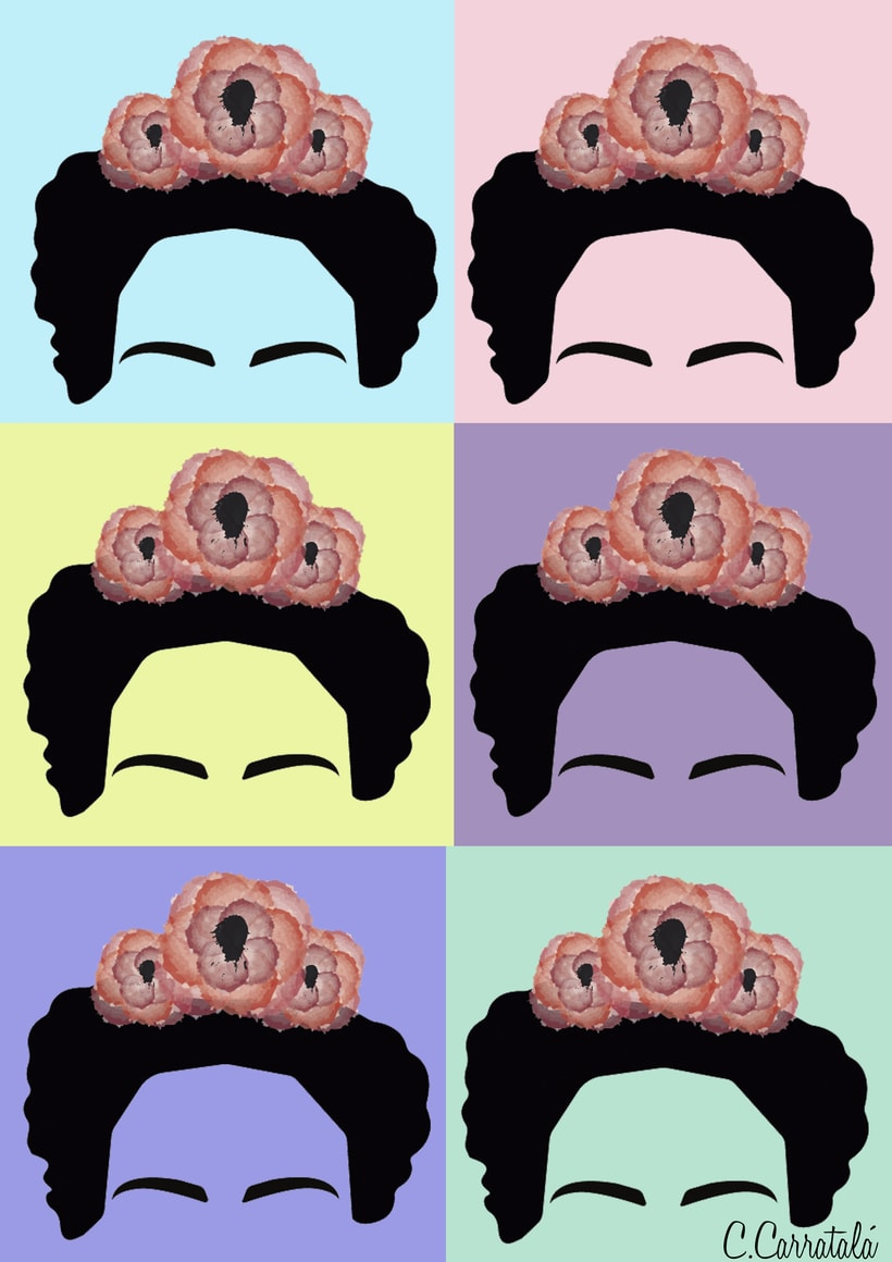 Ilustraciones Frida Kahlo 0