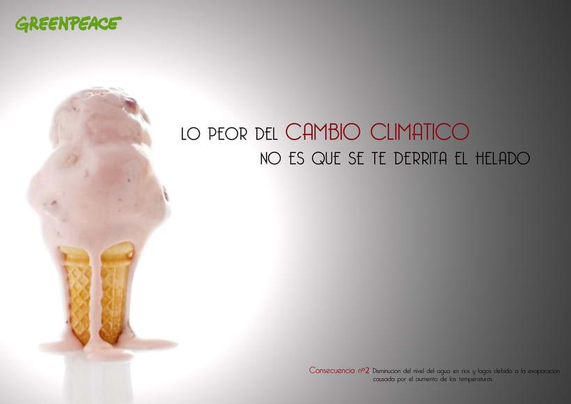 Greenpeace contra el cambio climático II 0