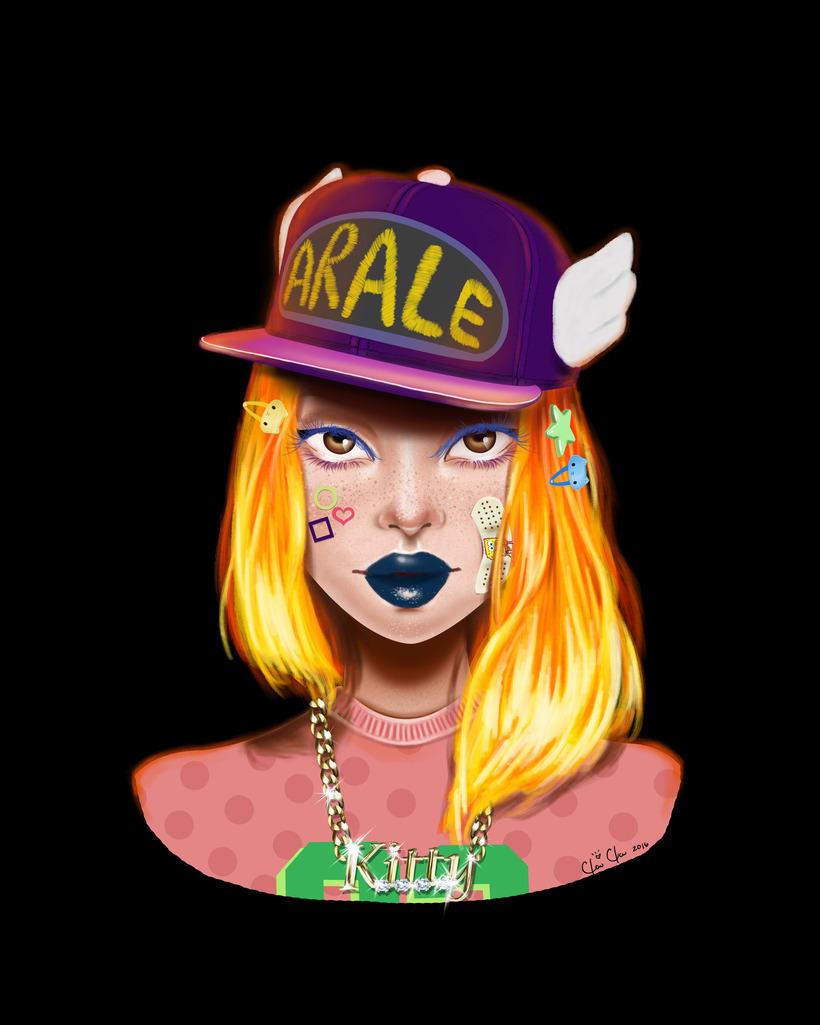 Decora girl fan-Clau Clau illustration -1
