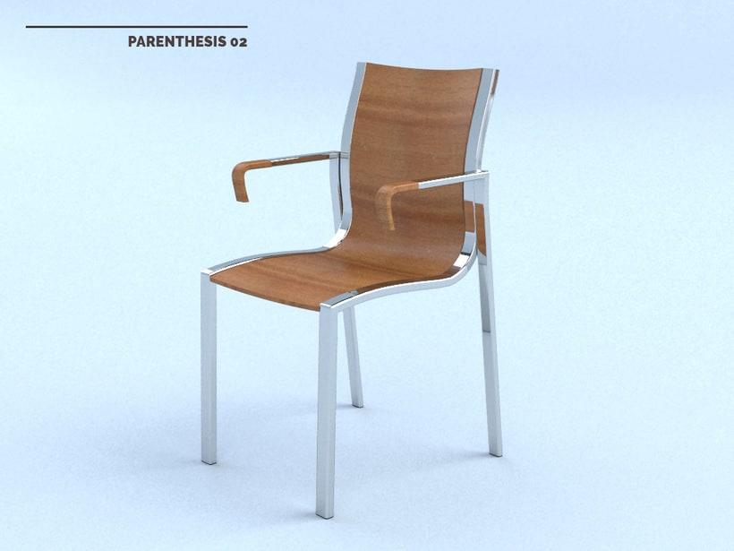 PARENTHESIS Chair 3