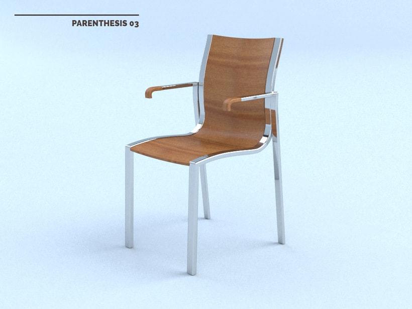 PARENTHESIS Chair 4