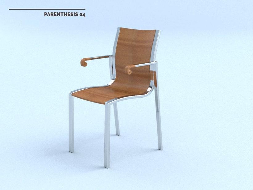 PARENTHESIS Chair 5