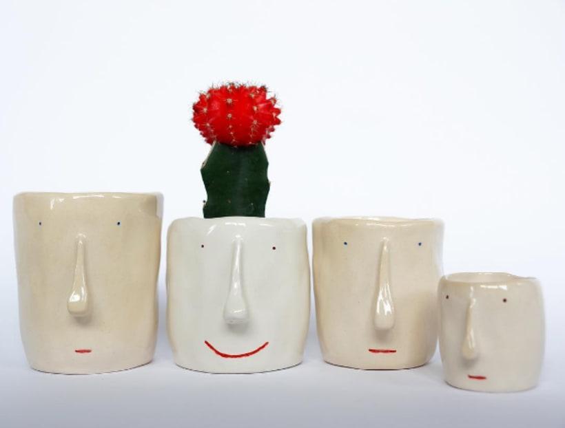 Pompilo Plants, macetas con personalidad y nombre propio 2