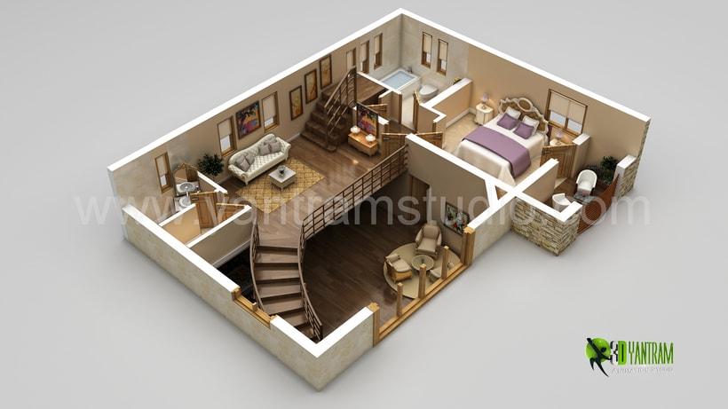 Diseño de planta 3D 3