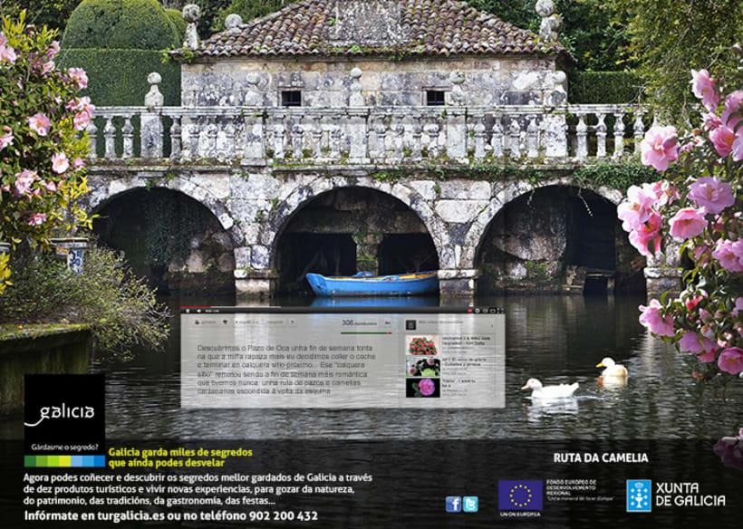 Campaña prensa y revistas Turismo de Galicia -1