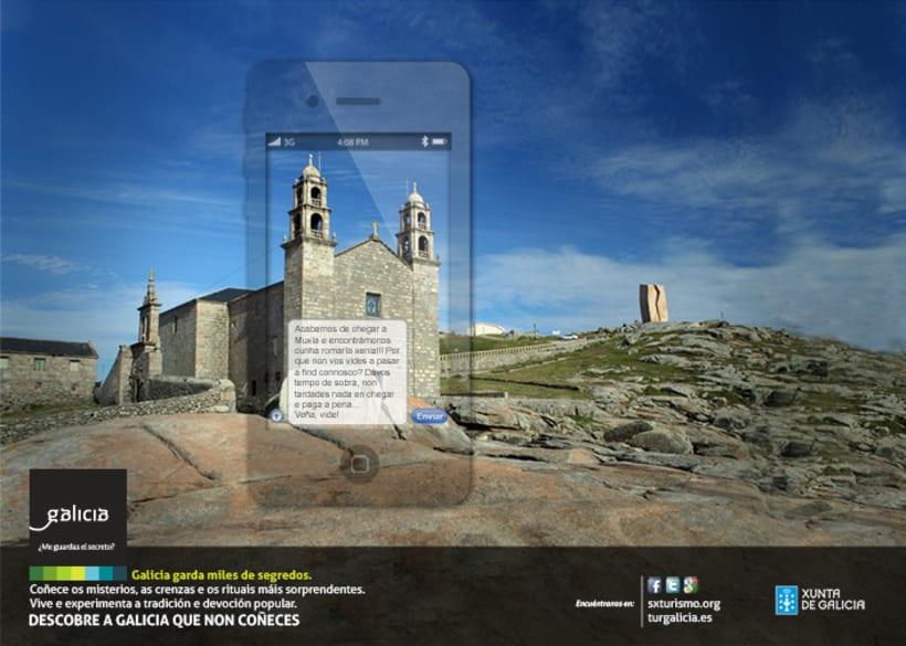 Campaña prensa y revistas Turismo de Galicia 0