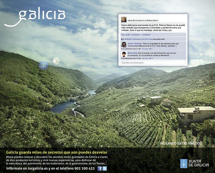 Campaña prensa y revistas Turismo de Galicia 2