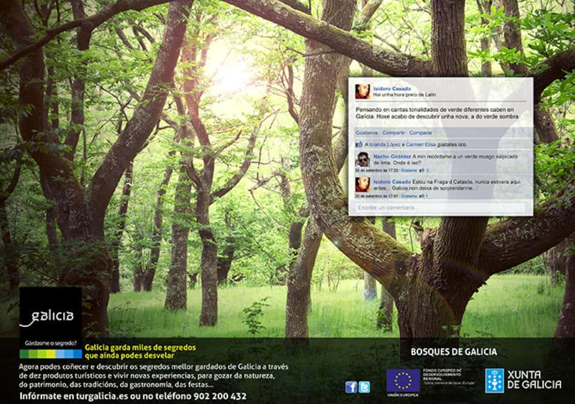 Campaña prensa y revistas Turismo de Galicia 3