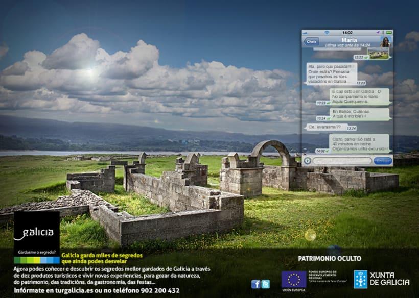 Campaña prensa y revistas Turismo de Galicia 5
