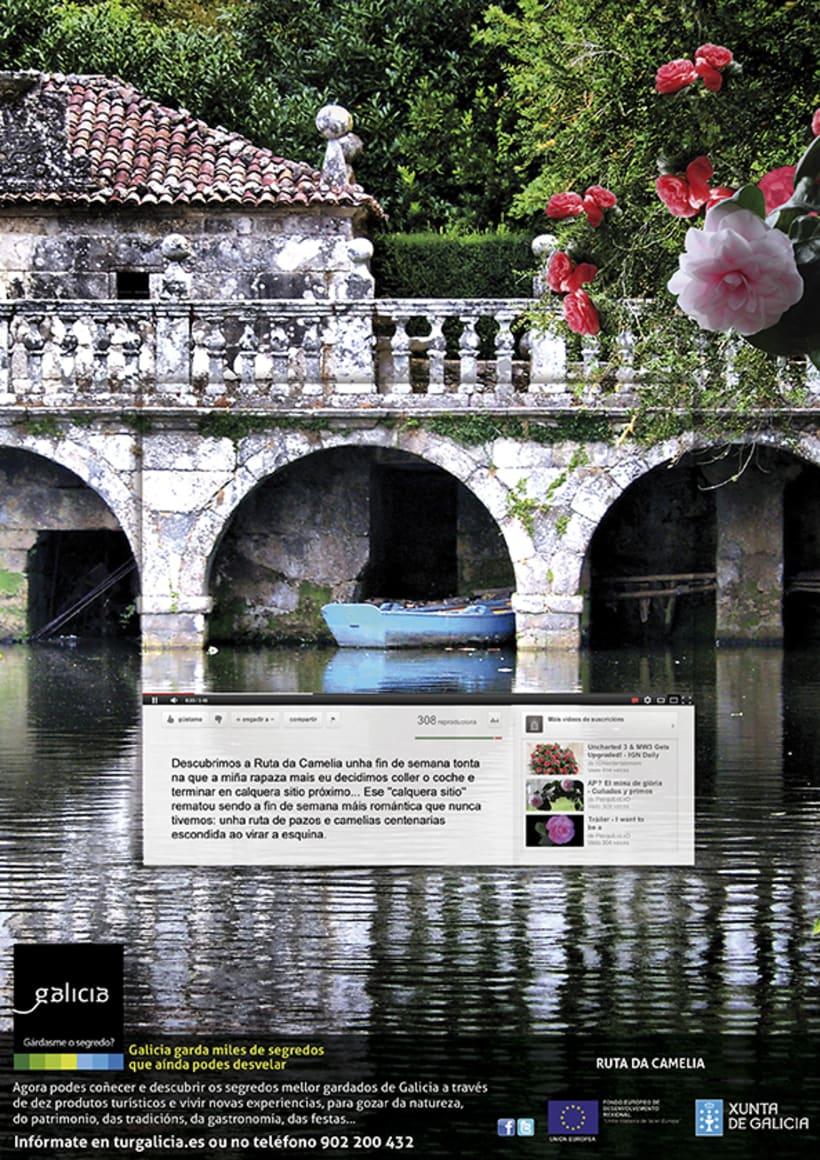 Campaña prensa y revistas Turismo de Galicia 6