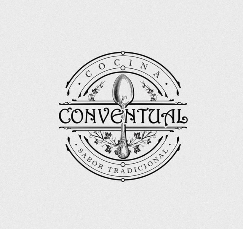 Logo, imagen y línea gráfica Cocina Conventual -1