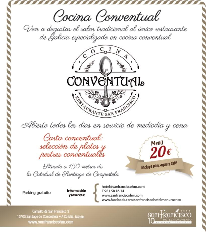 Logo, imagen y línea gráfica Cocina Conventual 1