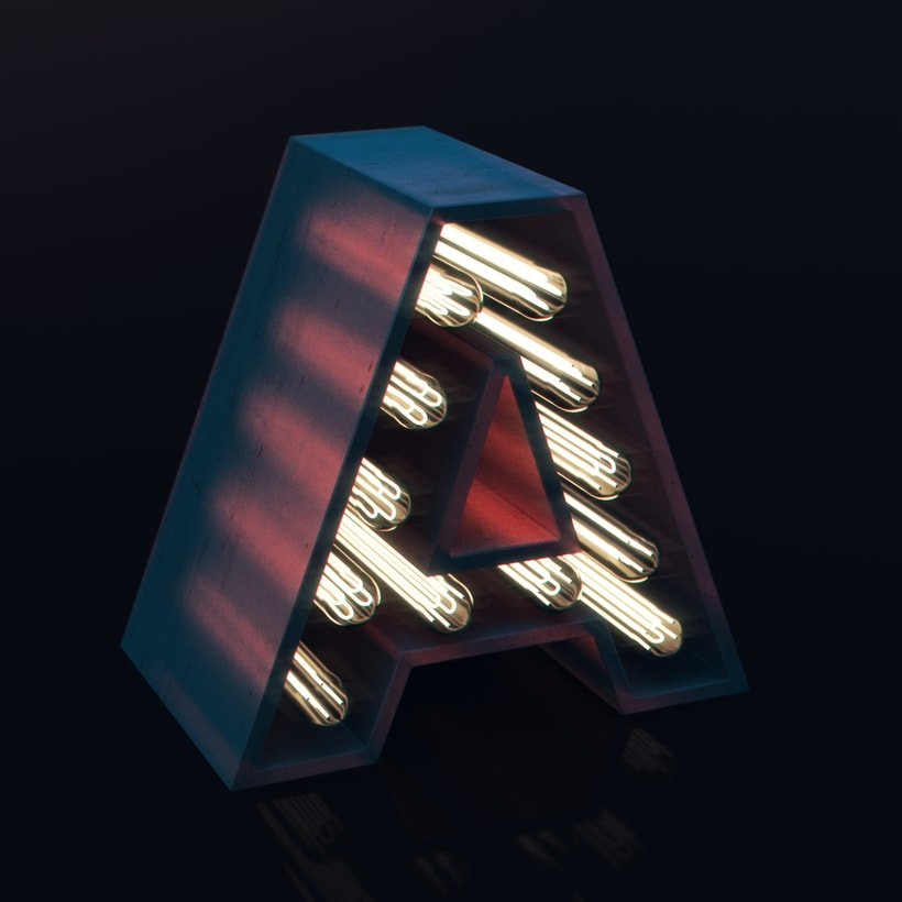 Lettering 3D 7