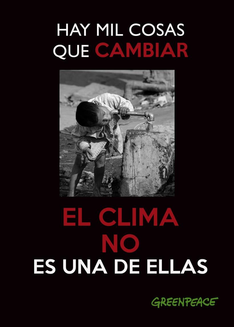 Campaña Greenpeace contra el cambio climático I 2