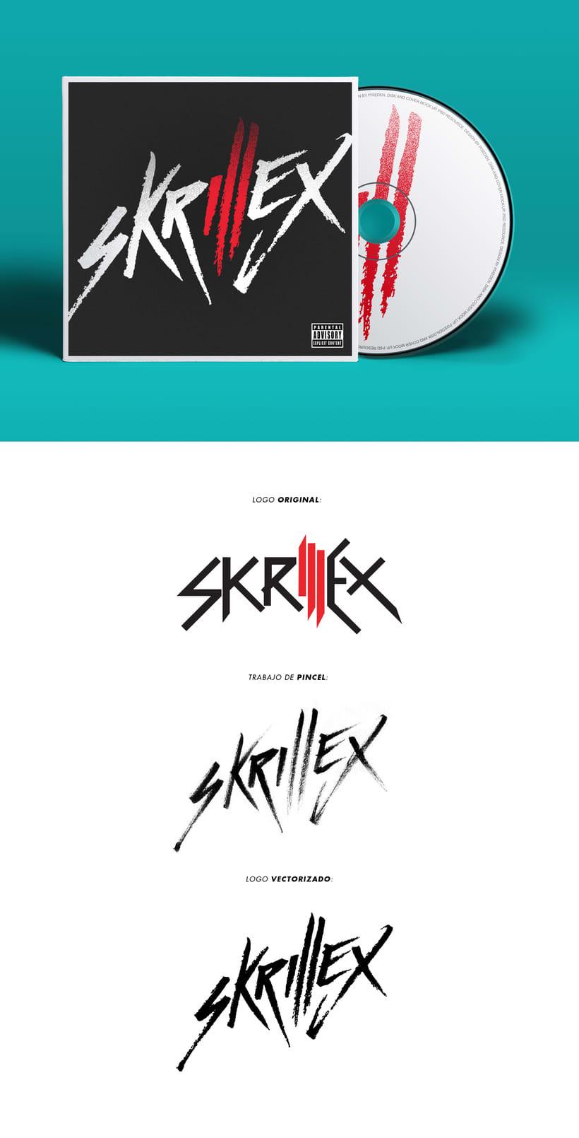 Logo Skrillex (Caligrafía y Rock'n Roll) 0