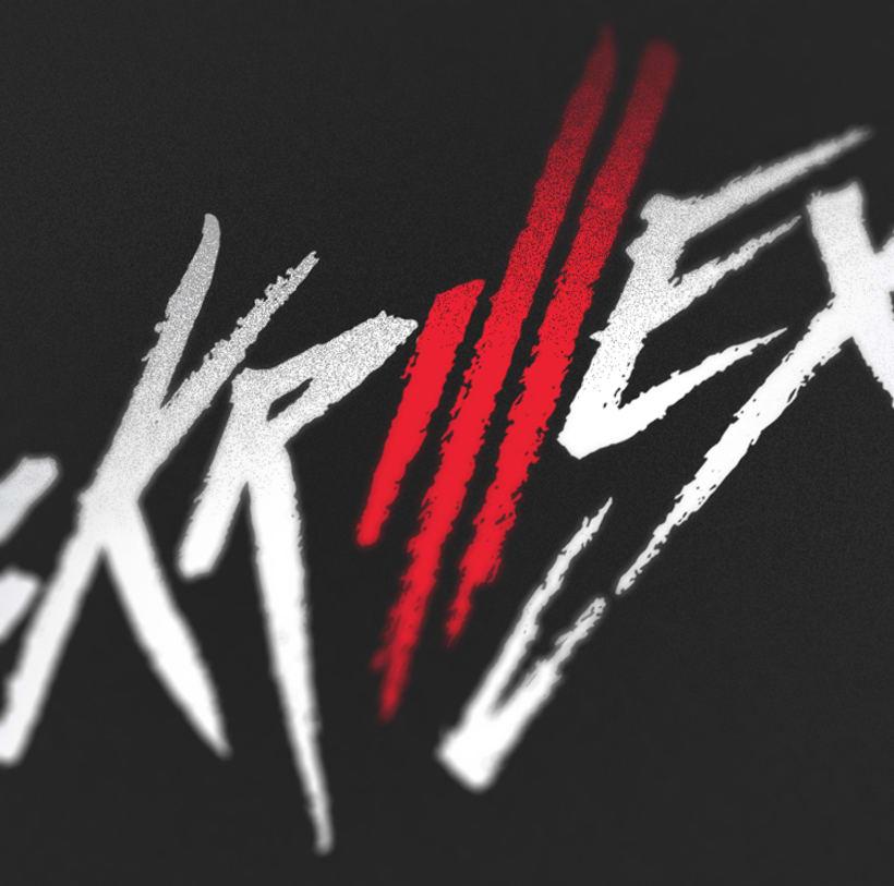 Logo Skrillex (Caligrafía y Rock'n Roll) 1