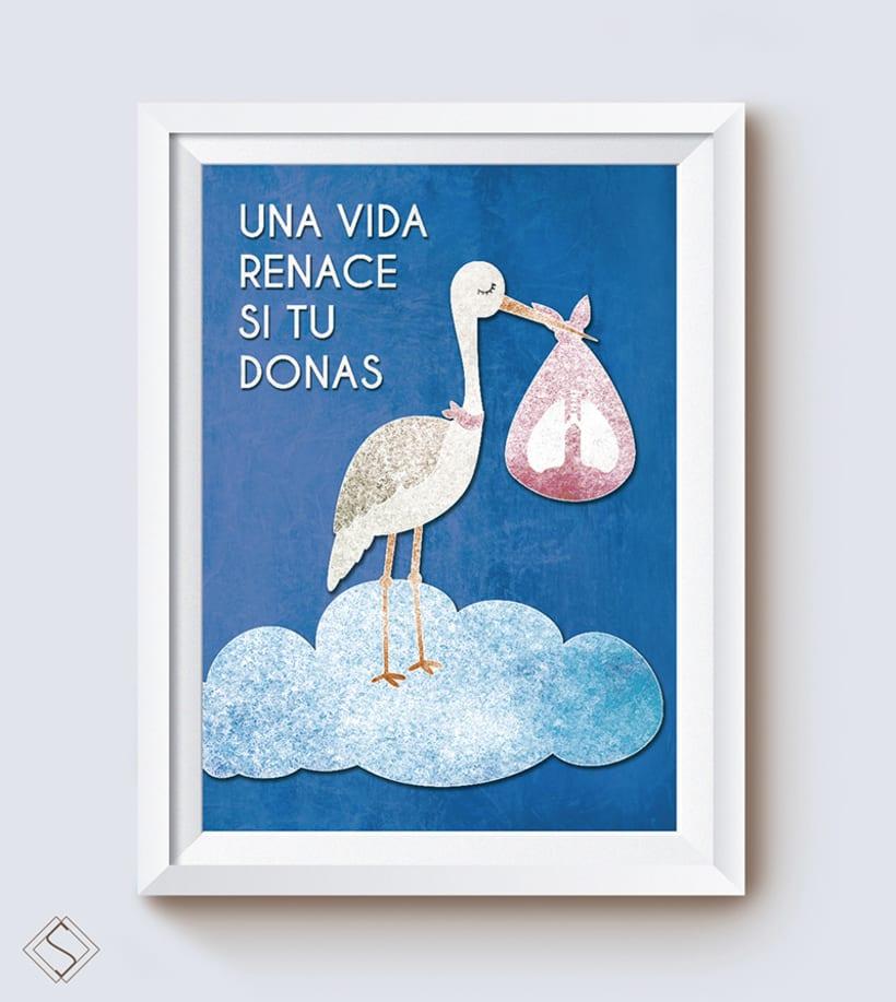 Cartel trasplante y donación de órganos -1