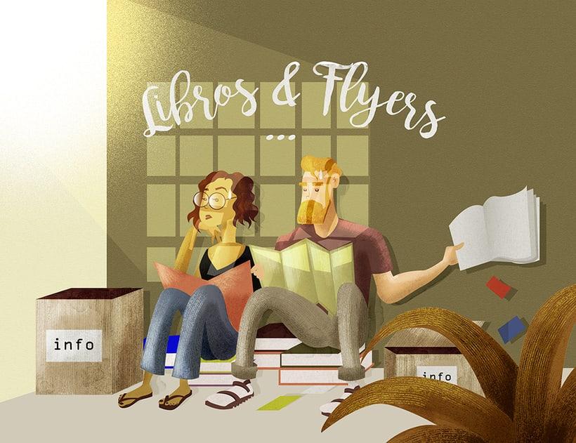 Libros Y Flyers -1