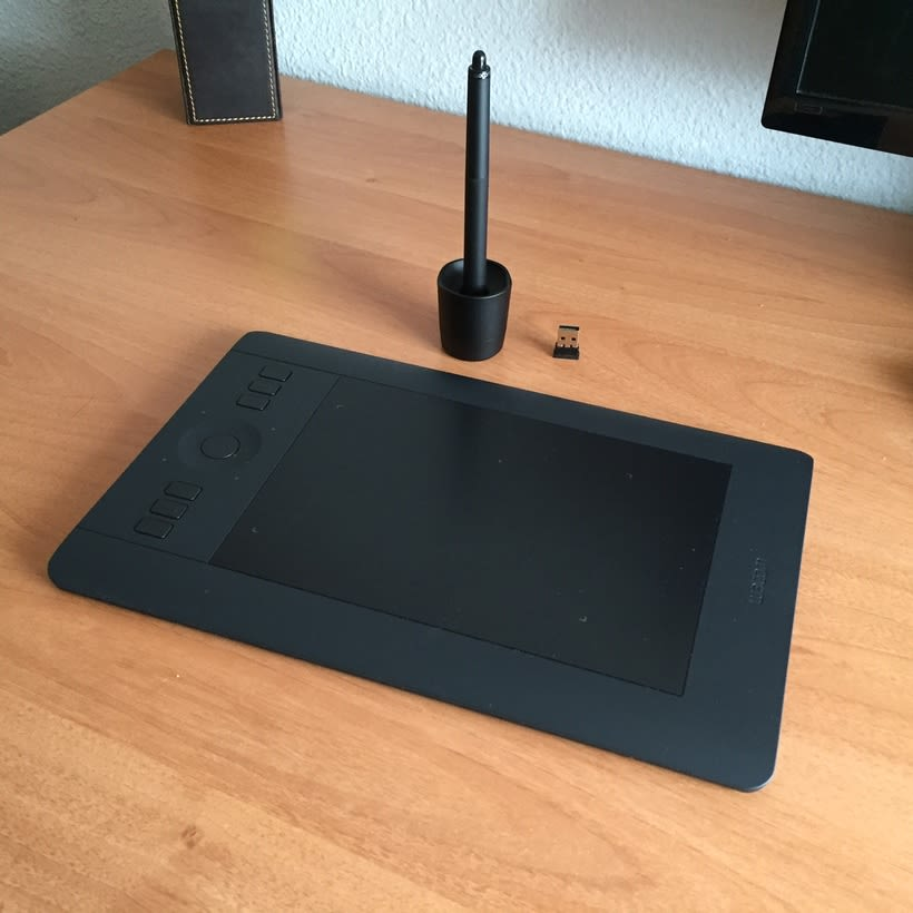 Vendo tableta digital Wacom Intuos Pro S 1