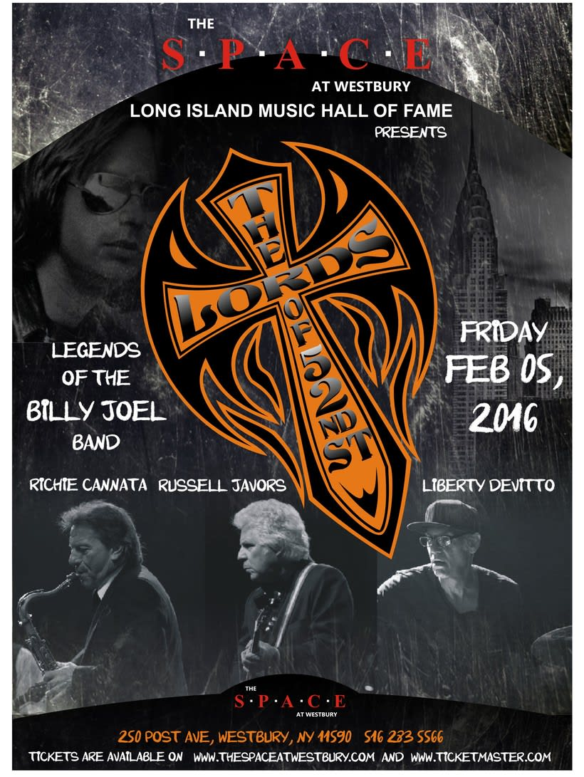 Poster para Conciertos LORDS OF 52nd STREET en New York 0