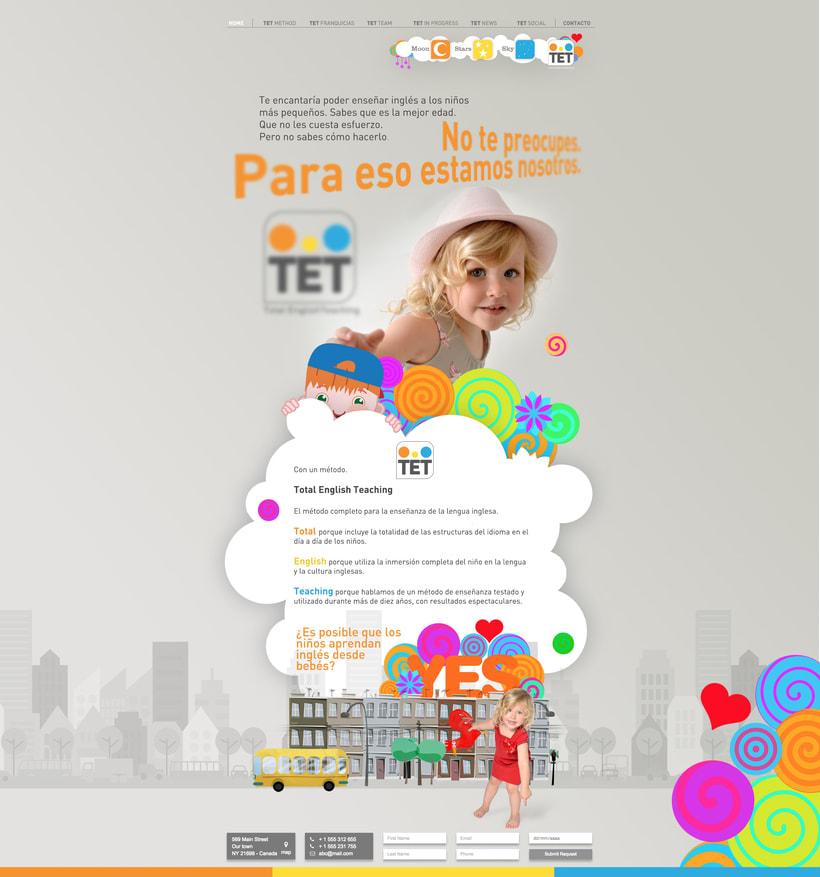 Desarrollo comunicación on / off,  multimedia y crossmedia para metodo de Inglés 7