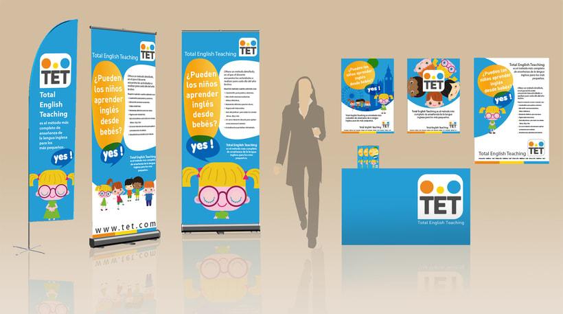 Desarrollo comunicación on / off,  multimedia y crossmedia para metodo de Inglés 2