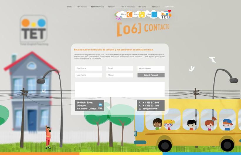 Desarrollo comunicación on / off,  multimedia y crossmedia para metodo de Inglés 10