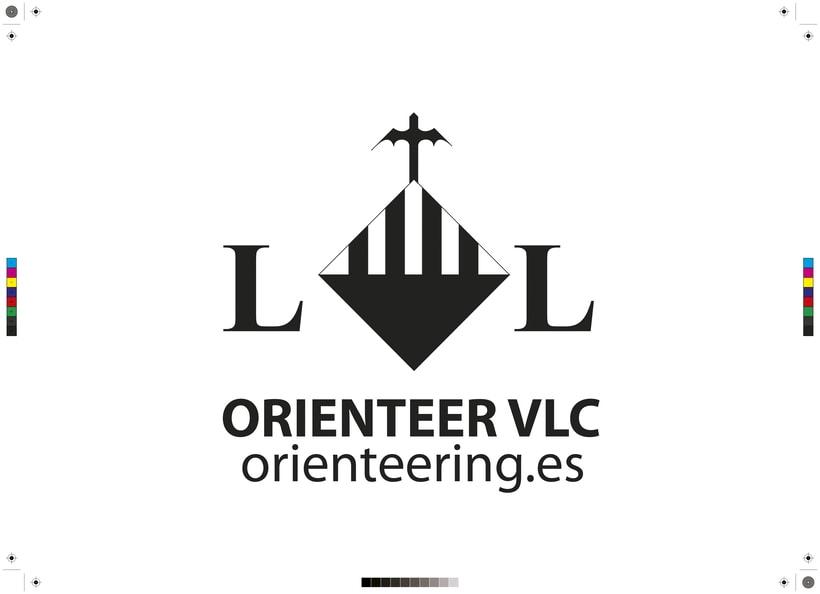 Proyecto de Logo para el evento Orienteer Valencia 2016 -1