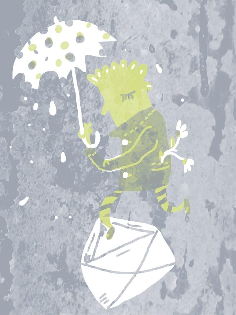 Mi Proyecto del curso: Ilustración original de tu puño y tableta 0