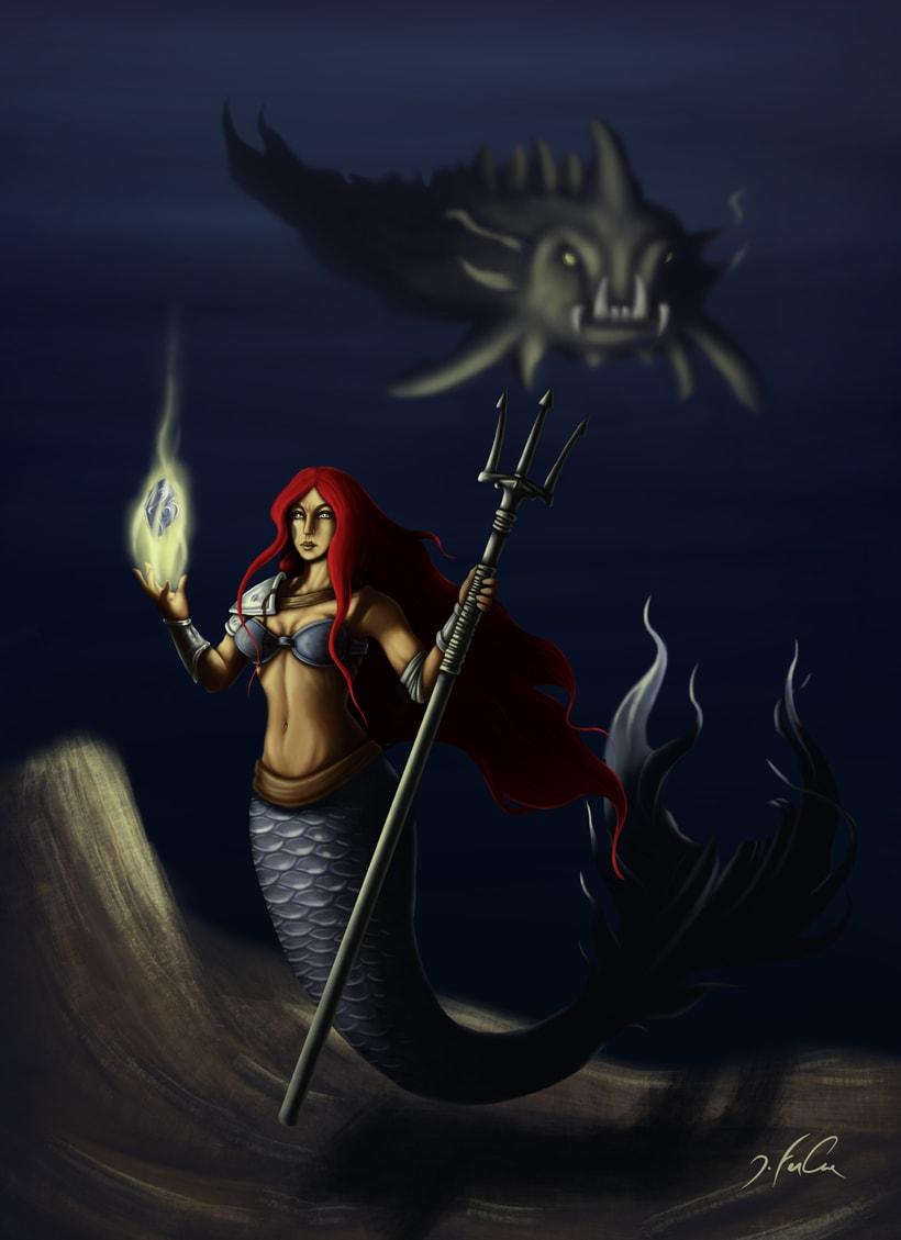 Luces bajo el agua 0