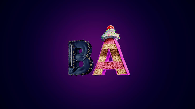 BA lettering 0