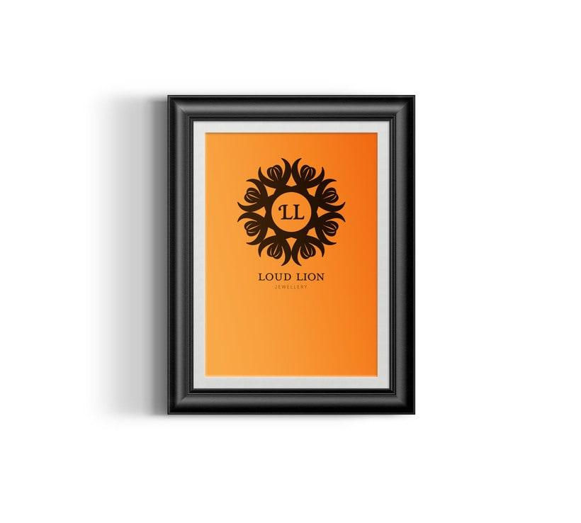 Loud Lion // Logo Design 11