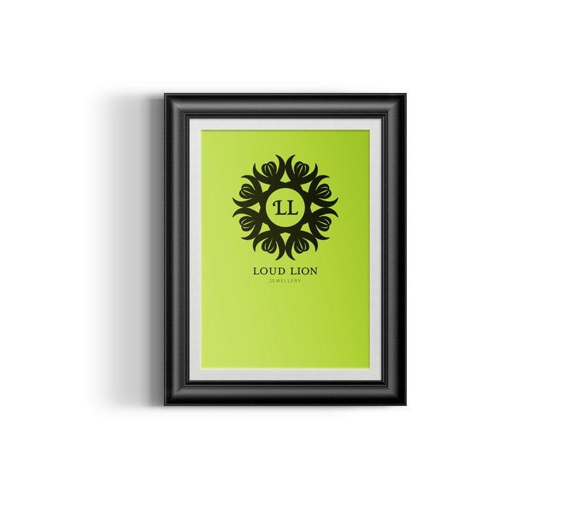 Loud Lion // Logo Design 12