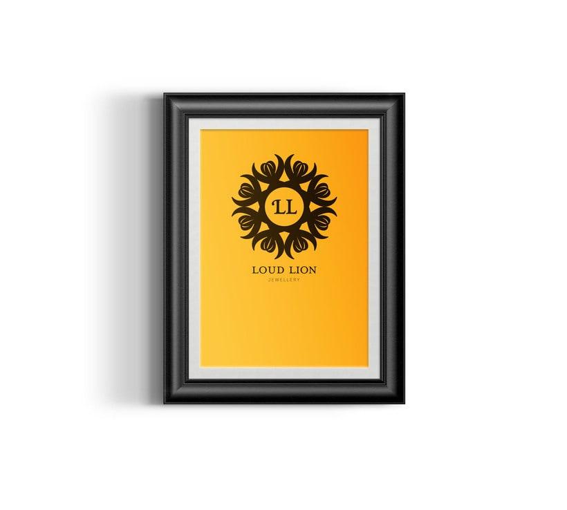 Loud Lion // Logo Design 14