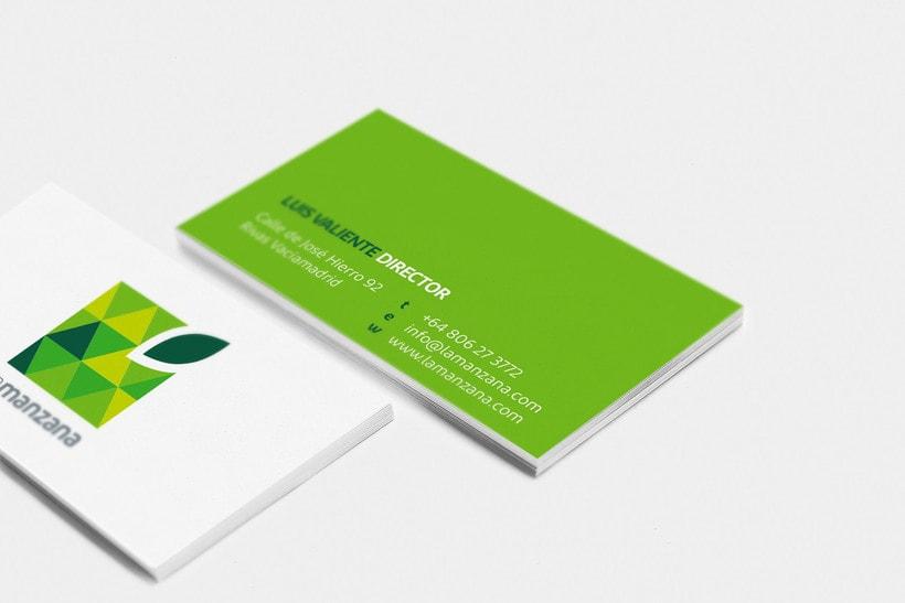 La Manzana // Logo & Branding Design 6