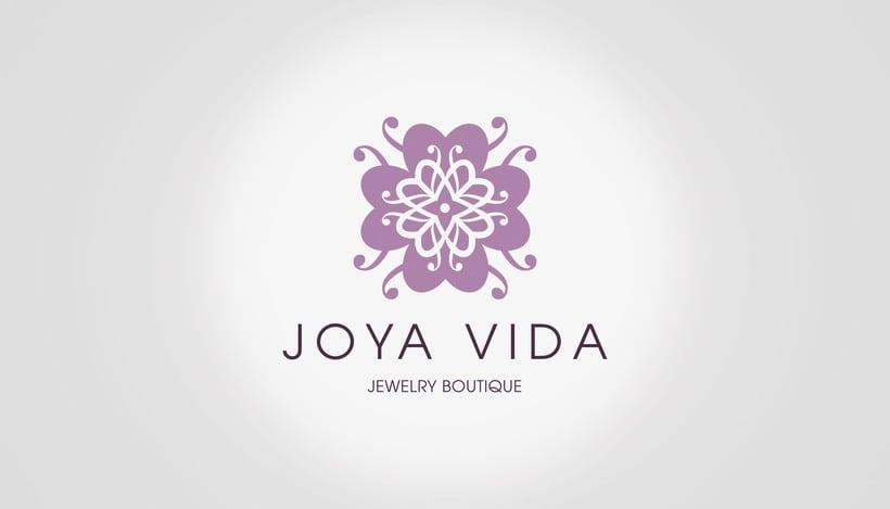 Joya Vida // Logo & Branding Design 2