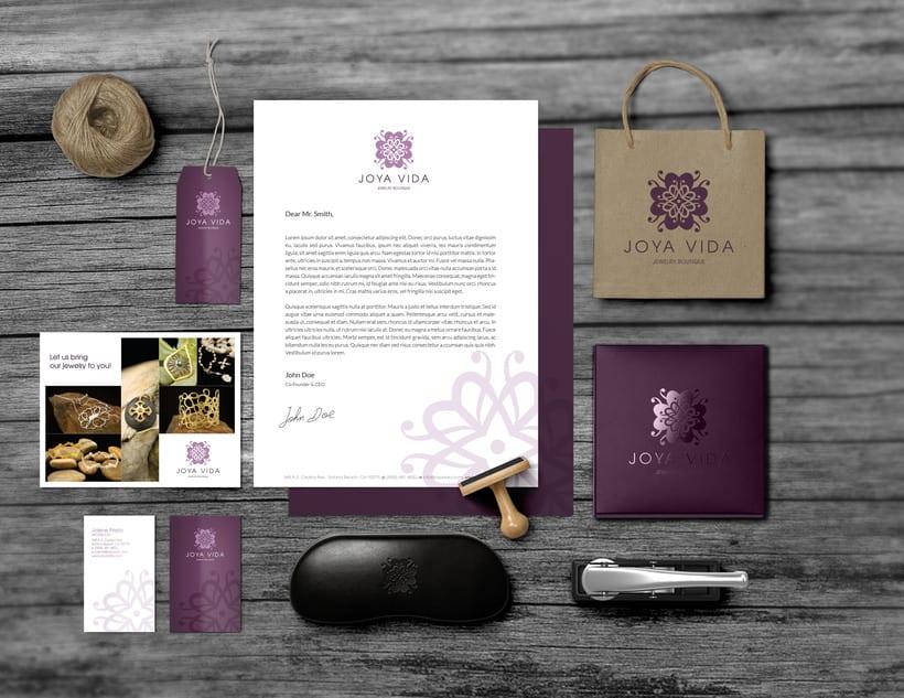 Joya Vida // Logo & Branding Design 8