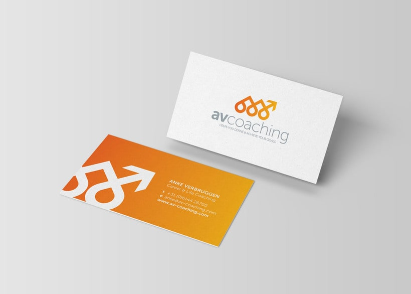 AV Coaching // Logo & Branding Design 1